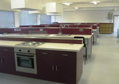 Food Technology Room Refurbishments