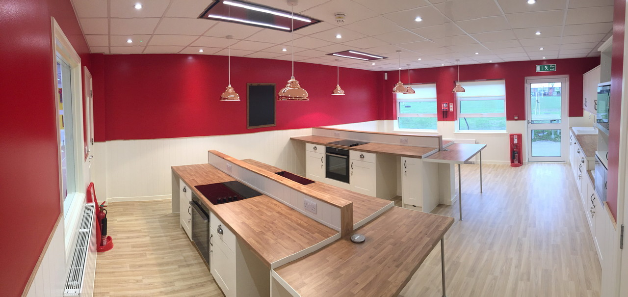 Food Technology Room Woodside Contract Services Limited